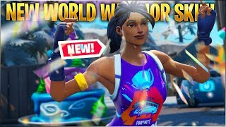 NEW World Warrior Skin Montage - Fortnite Battle Royale