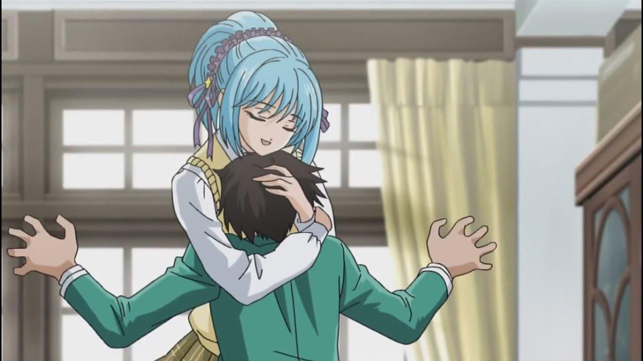 Rosario Vampire Kurumu And Tsukune Kiss