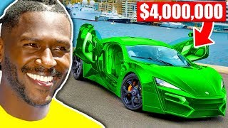 Stupidly Expensive Cars Of NFL Players (Antonio Brown, Odell Beckham Jr, Tom Brady)