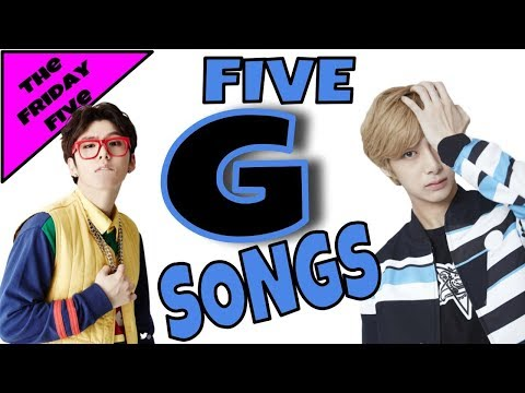 Songs Starting with G!! | The Friday Five