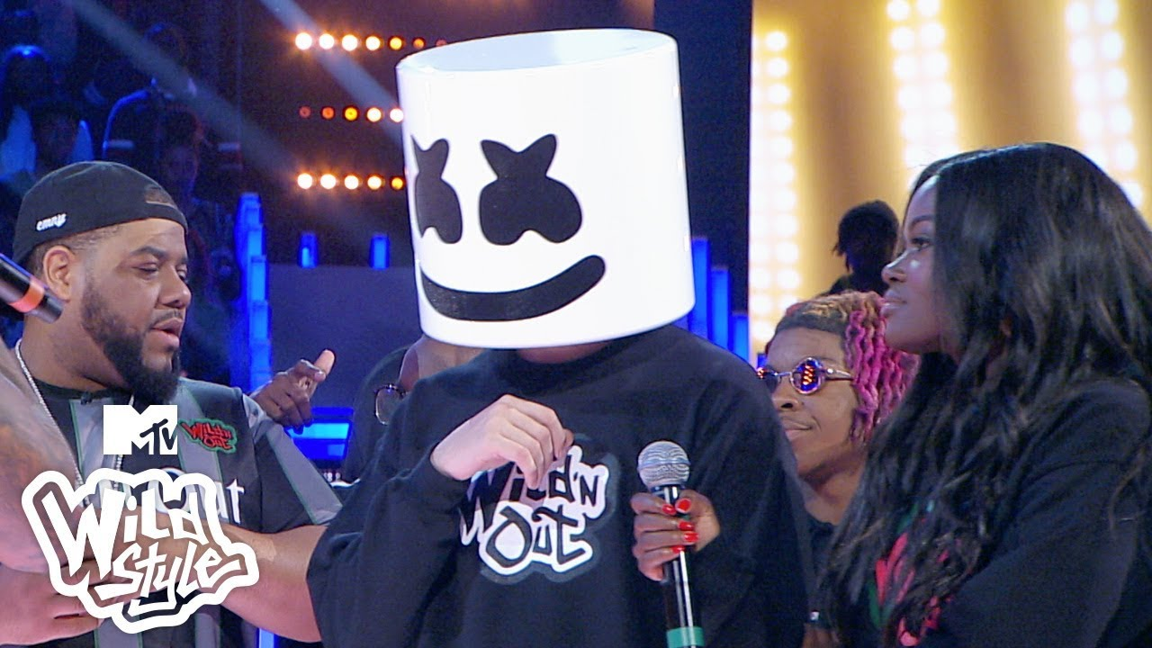 Nick Cannon Reveals Who the Real Marshmello Is 😱 Wild 'N Out   #Wildstyle image