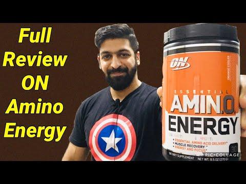 Review Optimum Nutrition Amino Energy   Pricing   Taste  