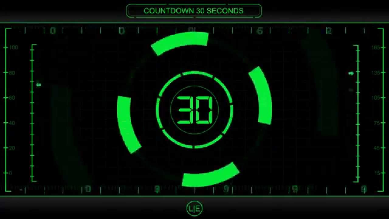 countdown timer 30 sec   v 225   clock with sound effects