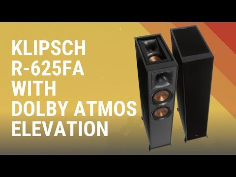 Klipsch R-625FA with Dolby Atmos Elevation Speaker - Quick Look