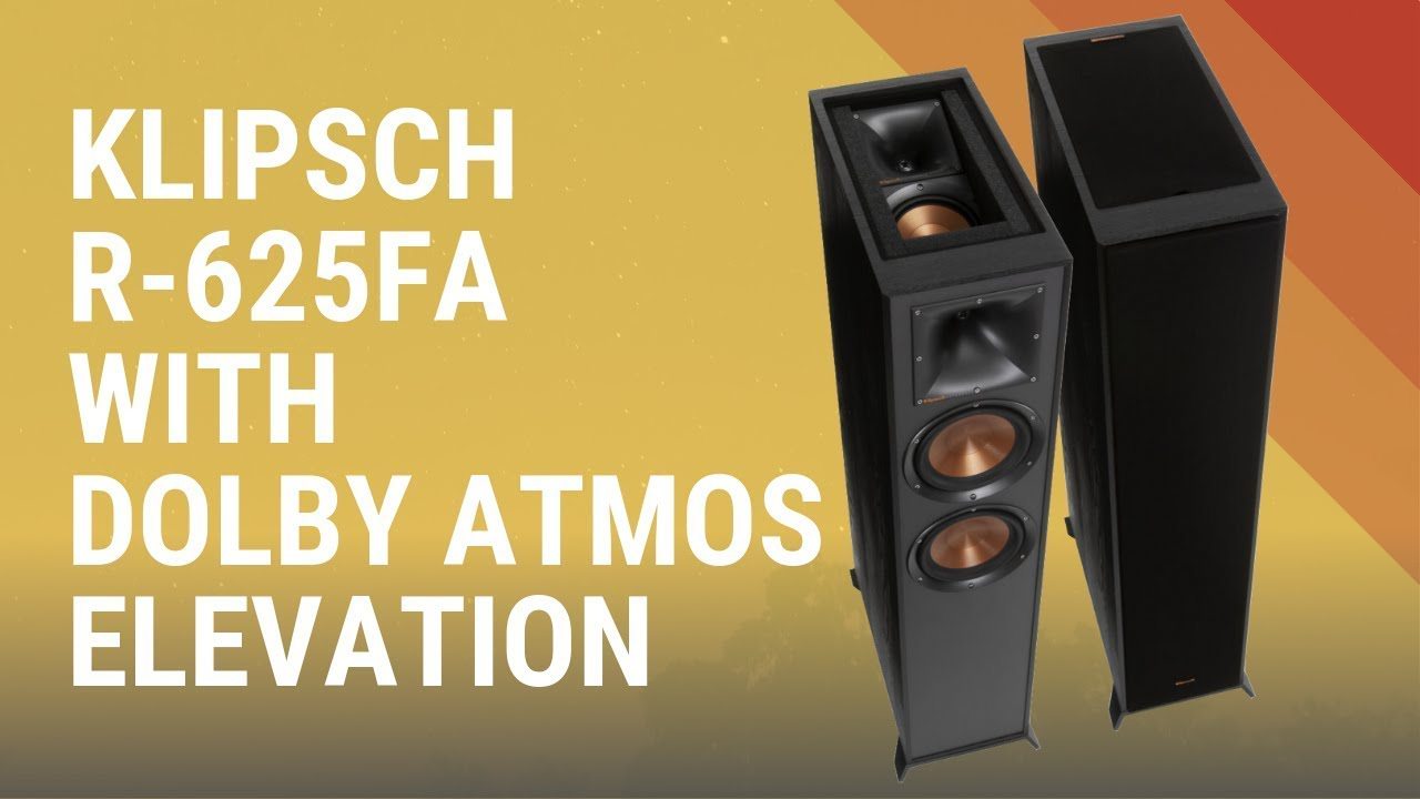 Klipsch R-625FA with Dolby Atmos Elevation Speaker - Quick Look India
