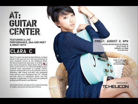 ClaraC @ Guitar Center [Orange, CA] Aug 2, 2013 - The Experience