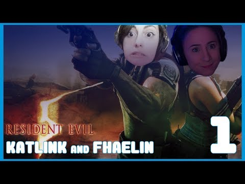 HURRY UP | Resident Evil 5 Co-Op w/ FhaeLin PART 1