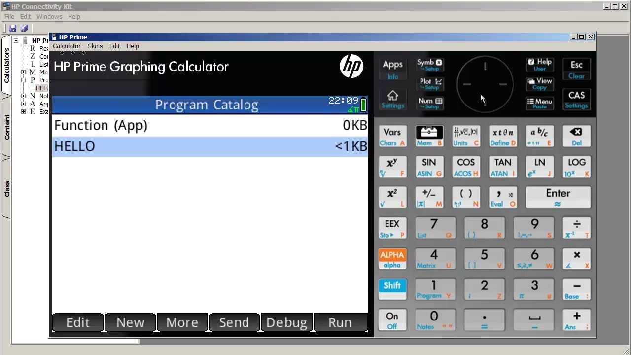 HP Prime - Creating