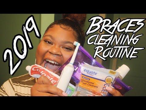 2019 Braces Cleaning Routine | lifeisajurnei