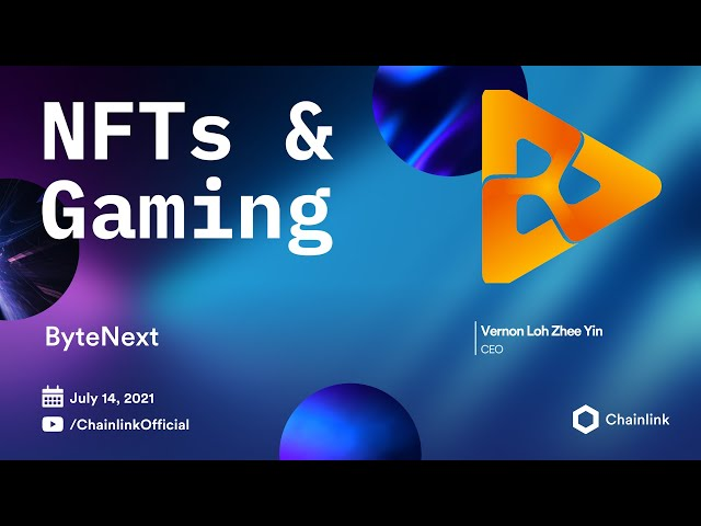 ByteNext on Chainlink Live   The AvatarArt NFT Marketplace on BSC