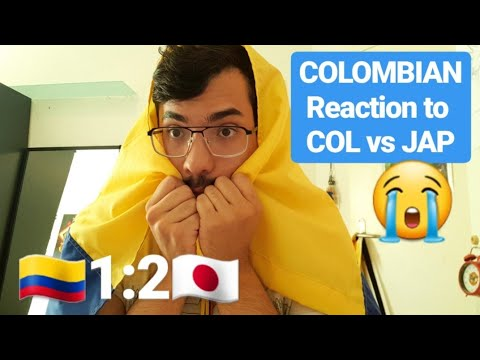 Colombian Fan Reaction to COLOMBIA vs. JAPAN 1:2 FIFA World Cup Russia 2018 Highlights Review Goals