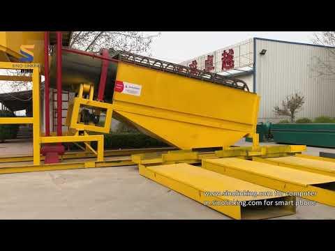 SLK-MGT200 Gold Trommel Wash Plant, Part 02