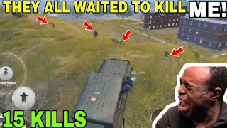THEY ALL WAITED TO KILL ME • (15 KILLS) • PUBG MOBILE GAMEPLAY (HINDI)