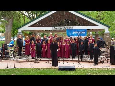 Opera Idaho Angelus Choir - Music in the Park Part 2 - Boise Music Week 2018