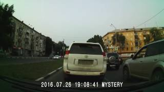 Видеорегистратор Mystery MDR-805HD - дневная съёмка