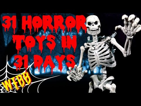 Hellboy SKELETON 31 Horror Toys in 31 Days