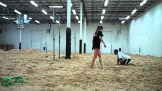 Sand Volleyball Jump Training