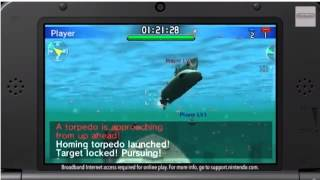 Steel Diver Sub Wars - Nintendo Direct Gameplay Footage (Nintendo Direct - 3DS)
