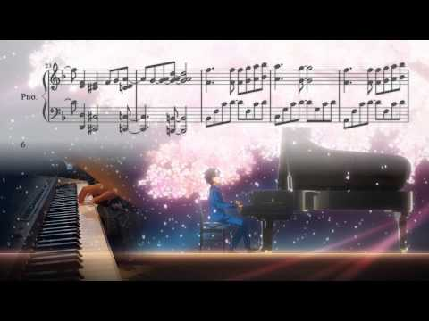 Your Lie in April - Yuujin A ~Piano Solo~ (Cover & Sheet Music)