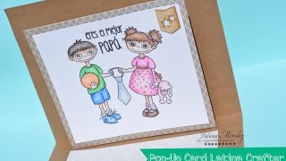 Pop-Up Card para Papa-Sellos Latina Crafter