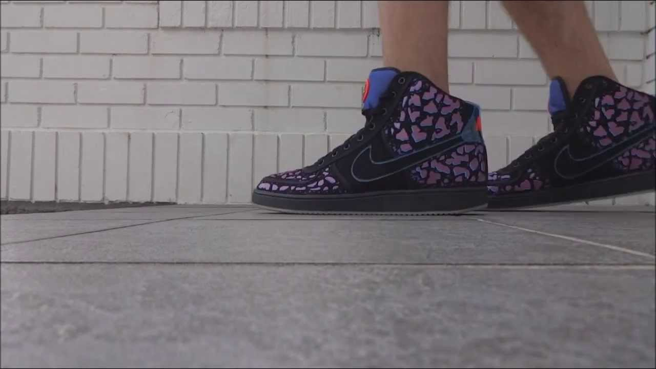 huge selection of f99bc 53dee Nike Vandal Area 72 - On Foot - YouTube