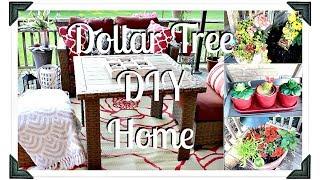 DIY Dollar Tree Deck Decor Ideas|| Small Deck ideas