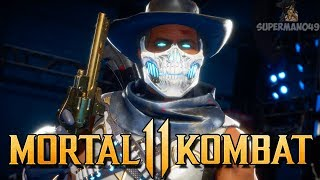 "The Best Looking Erron Black Ever! - Mortal Kombat 11: ""Erron Black"" Gameplay"