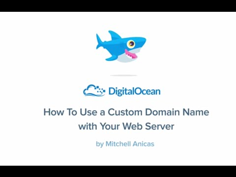 How To Use a Custom Domain Name with Your Web Server