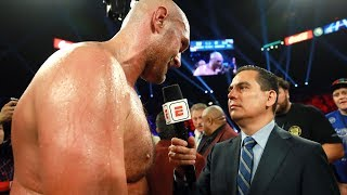 Post-Fight Interview: Tyson Fury