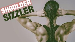 Shoulder Toning Workout (4 MIN SHOULDERS SIZZLER!!)