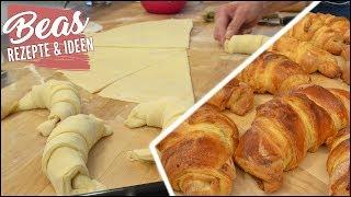 Schnelle Croissants ohne Fertigteig – Croissant Blätterteig Rezept