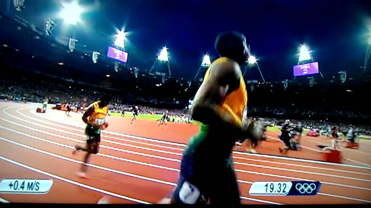 Usain Bolt 200m Final - London 2012 - 8/9/2012 - YouTube