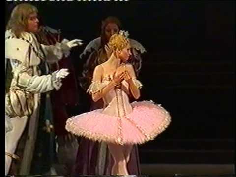 "Nina Kaptsova in ""The Sleeping Beauty"". Scene with a spindle."