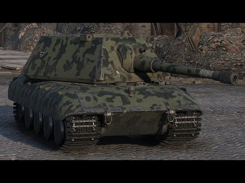 World of Tanks E100 - 11 Kills 9,7K Damage (1 VS 6)