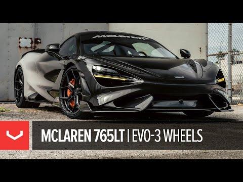 McLaren 765LT | Vossen Forged EVO-3