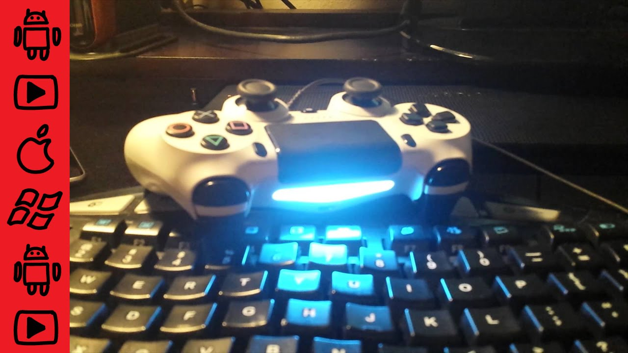 How To Fix Flashing Blue Light On Ps4 Controller