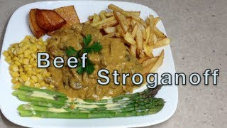 Beef Stroganoff Video Recipe Cheekyricho