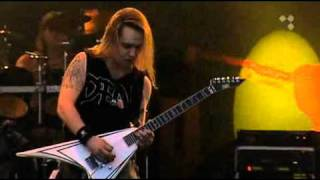 """Children of Bodom performing the song """"Children of Bodom"""" live at T..."""