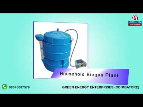 Biogas Plant And FRP Tank by Green Energy Enterprises, Coimbatore