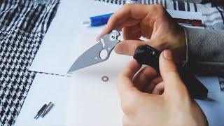 нож Spyderco Paramilitary 2: разборка и мое ИМХО