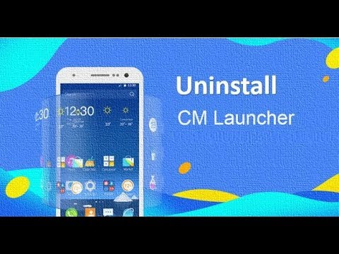 How to Uninstall CM launcher on Android Phone | H2S Media