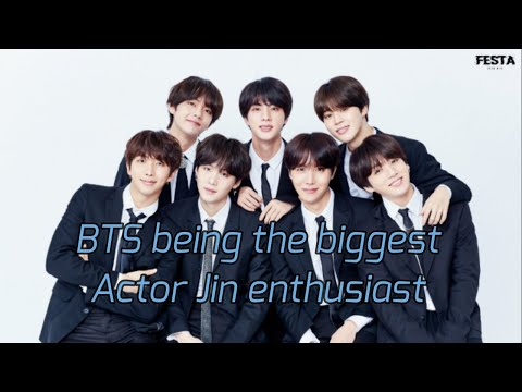 How BTS Are Impressed By Jin's Acting Skill   Actor Jin [Reup]