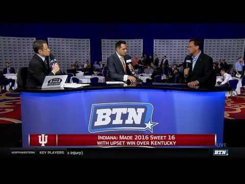 Tom Crean Interview - 2016 B1G Men