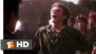 Hook (48) Movie CLIP - Peter Becomes Pan (1991) HD
