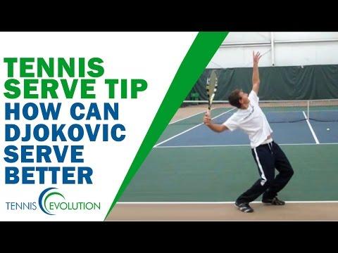 TENNIS SERVE TIP | How Can Djokovic Serve Better