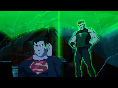Young Justice 3x14 - Superman And Green Lantern Team Up