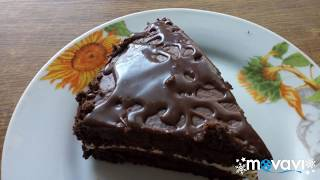 """Шикарный Шоколадный Торт """"ЮЖНАЯ НОЧЬ"""" Самый вкусный шоколадно  бисквитный тортик!"""