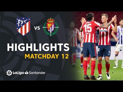 Highlights Atletico Madrid vs Real Valladolid (2-0)