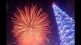 Новогодний Салют Ялта НОВЫЙ ГОД ЯЛТА 2020 НАБЕРЕЖНАЯ ЯЛТЫ ЕЛКА ЯЛТЫ Новогодняя Ялта 2020 Ночная Ялта