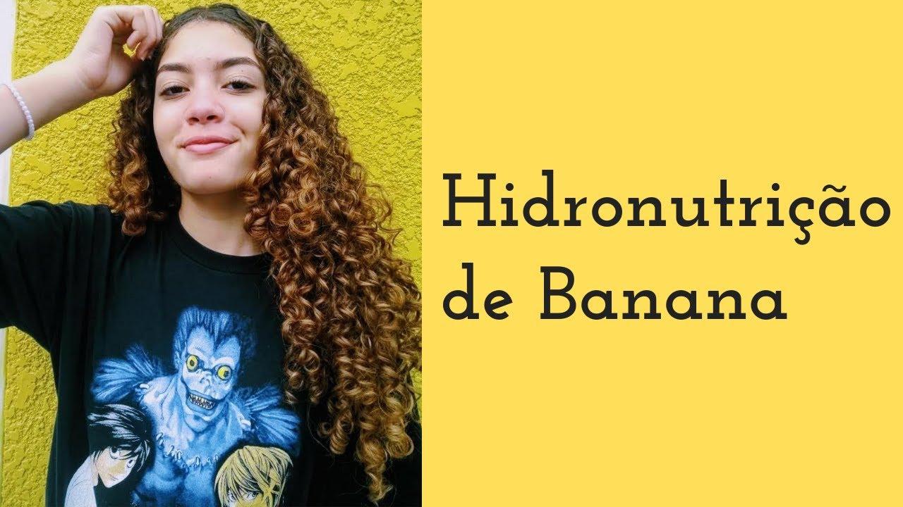 Receita caseira com banana (Hidronutrição) - Luciana Candida